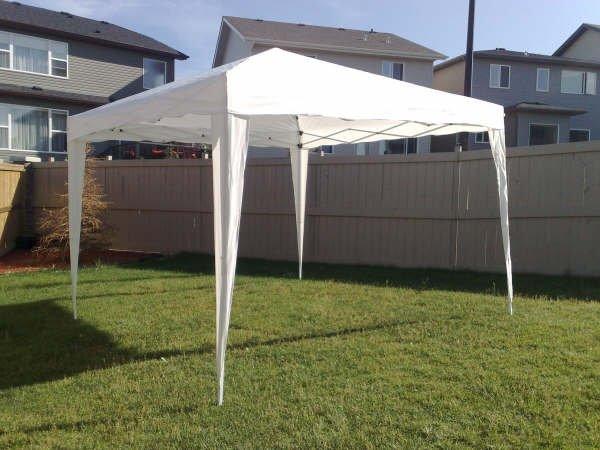 10x10 Tent & Edmonton Party Rental-Tents