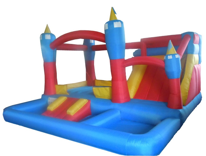 Castle Bouncer W/ Slide and Play Pen