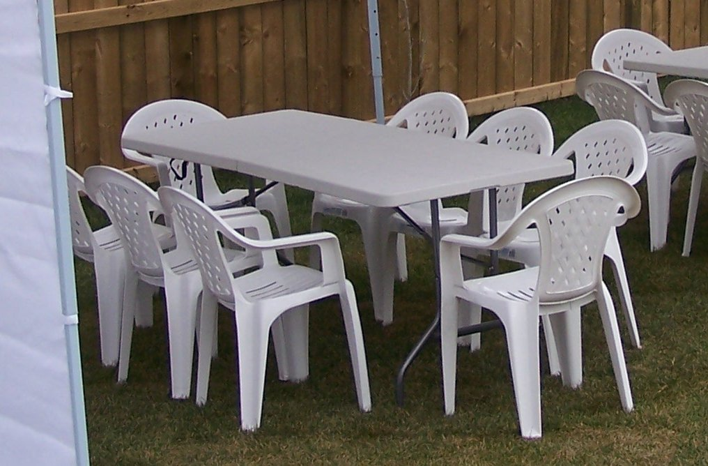 edmonton party rentals chairs and tables